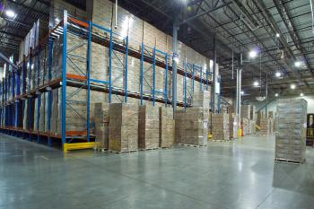 warehouse steele racking